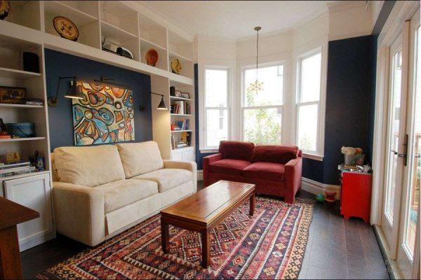 расстановка мебели в гостиной после ремонта