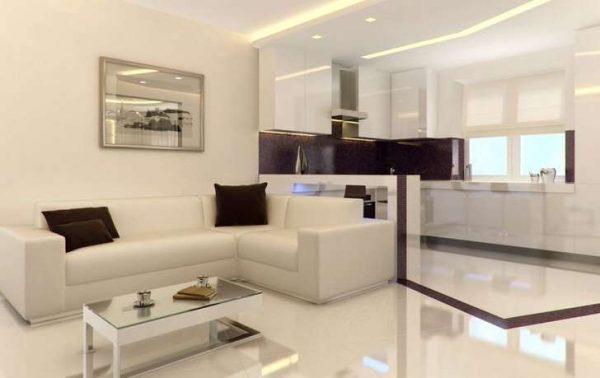 Квартира-студия в стиле минимализм на 20 кв. м