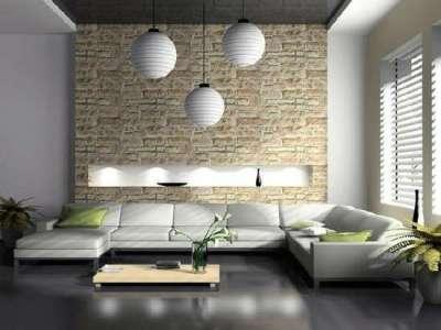 подвесные люстры в интерьере в стиле хай тек