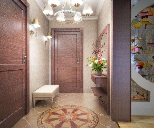 цветы в коридоре в однокомнатной квартире