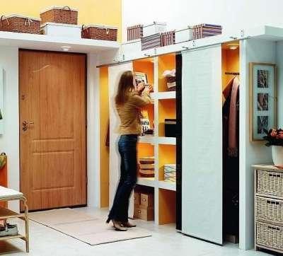 Дизайн коридора в однокомнатной квартире