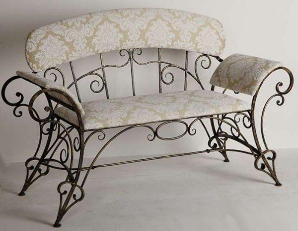 кованая мебель в стиле прованс