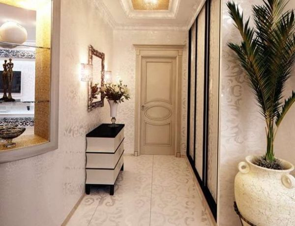 классический стиль в коридоре