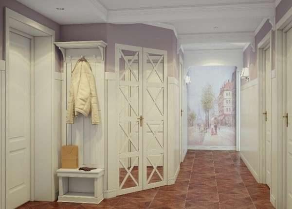 коридор в стиле прованс