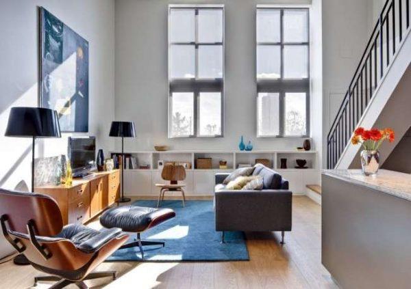 стильная мебель в современной гостиной