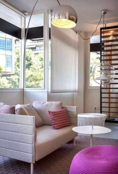 мебель в современной гостиной в стиле модерн