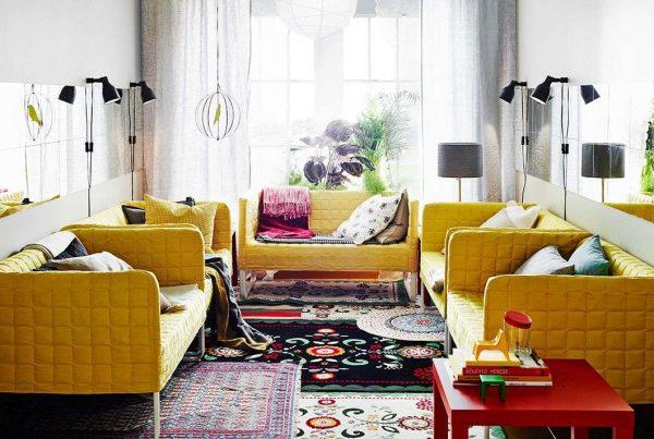 мебель модерн в современной гостиной