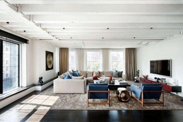 Мебель для гостиной в современном стиле – фото в интерьере