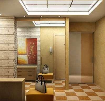 светящийся потолок в коридоре