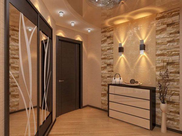 мебель в интерьере прихожей в квартире