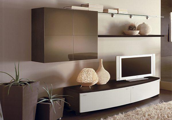 комбинированная стенка под телевизор в гостиную