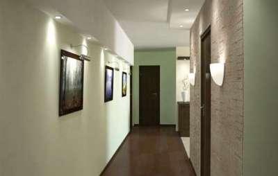 освещение в узкой прихожей в квартире
