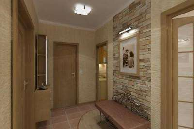 керамическая плитка в коридоре панельного дома