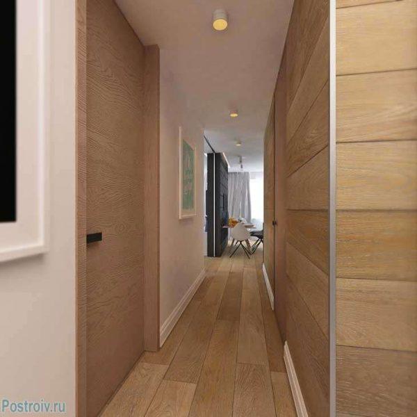 ламинат в коридоре панельного дома