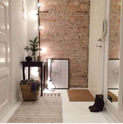 Интерьер коридора в квартире панельного дома — реальные фото