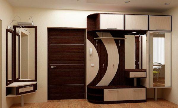 мебель в коридоре панельного дома