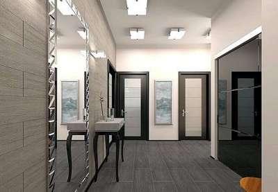 ламинат на полу коридора в квартире