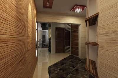 бамбуковые панели в прихожей фото сказка