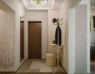 свеилый интерьер коридора в квартире
