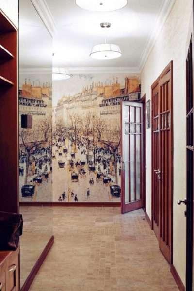 фотообои в коридоре квартиры