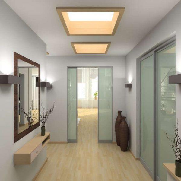 раздвижные двери коридора в квартире
