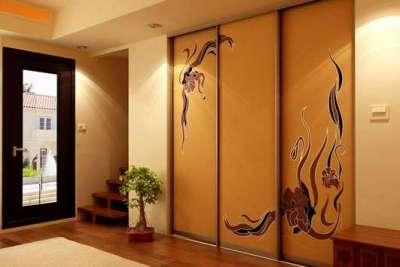 шкаф в прихожей в японском стиле