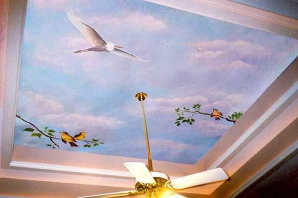 3D фотообои с изображением неба