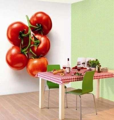 Фотообои для кухни 3д
