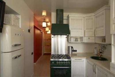 холодильник смег на маленькой кухне