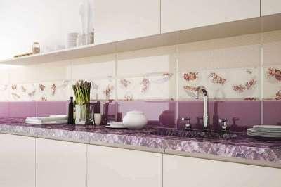 Кафель на кухню — керамическая плитка в интерьере кухни (50 фото)