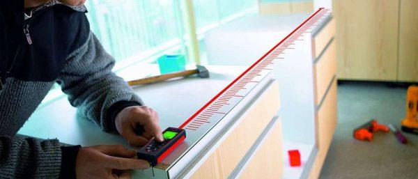 лазерный дальномер для снятия замеров кухни