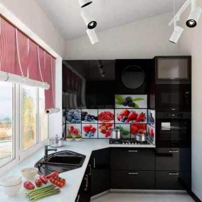полноценная кухня на балконе или лоджии