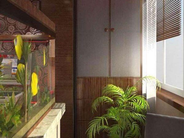 аквариум на балконе или лоджии