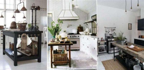 кухни с открытым островом