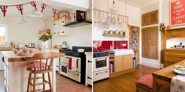 украшения на кухне в английском стиле