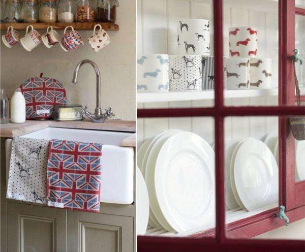 декор в английском стиле для кухни
