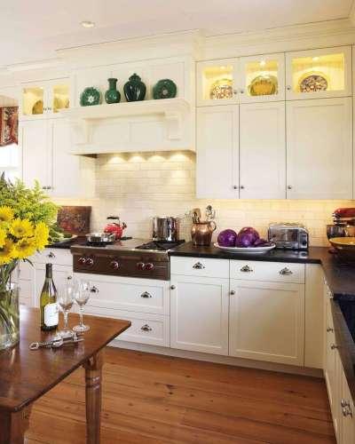 декор на кухне в английском стиле