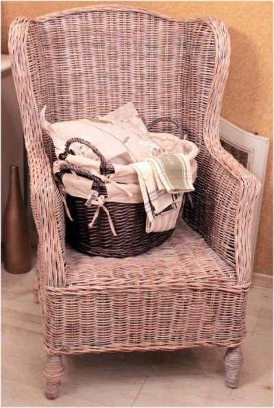 плетёная мебель для кухни кантри