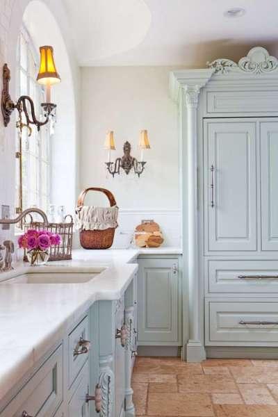 буфет на кухне в стиле прованс