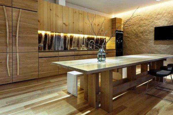 стильный декор кухонного гарнитура в японском стиле