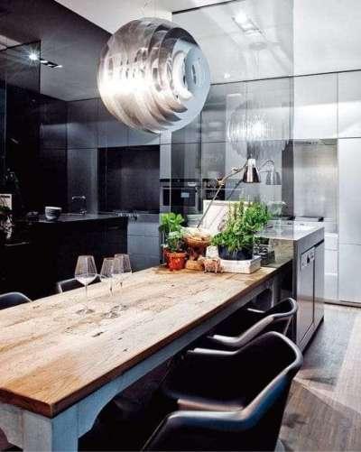 люстра для кухни в стиле хай тек
