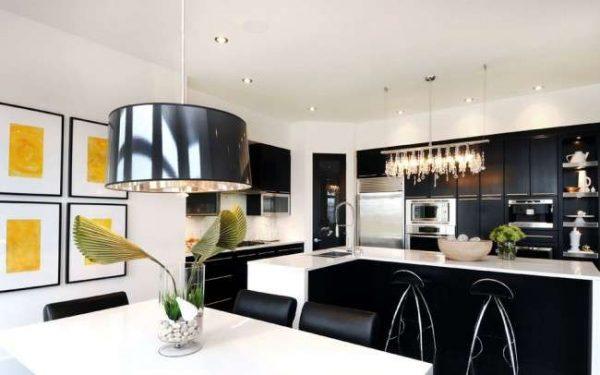люстра модерн для кухни