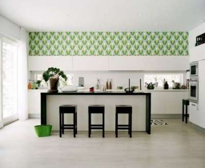 лаконичный интерьер кухни