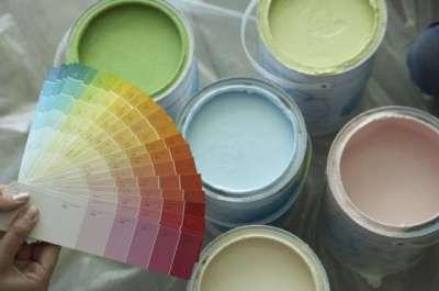 краски для потолка на кухне