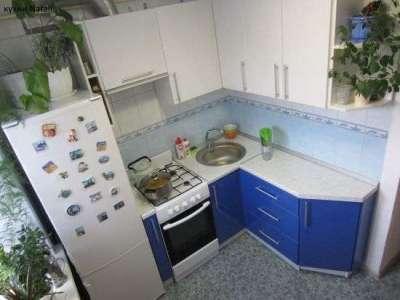 ремонт угловой маленькой кухни