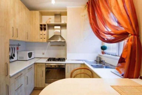 шторы и жалюзи для небольшой кухни