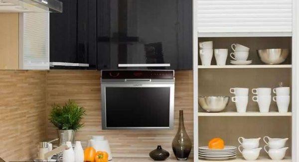 как спрятать телевизор на кухне