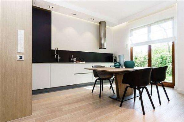 минимализм на кухне столовой