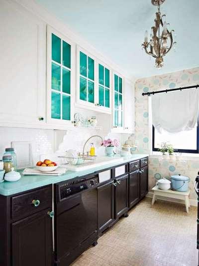 белая кухня своими руками из мебельных щитов
