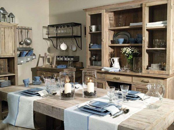 декор на кухне в стиле прованс